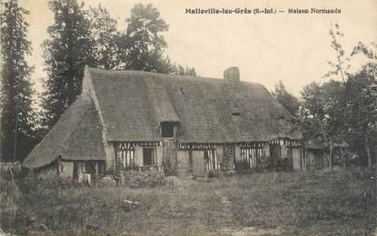"""CPA FRANCE 76 """"Malleville les Grès, Maison Normande"""""""