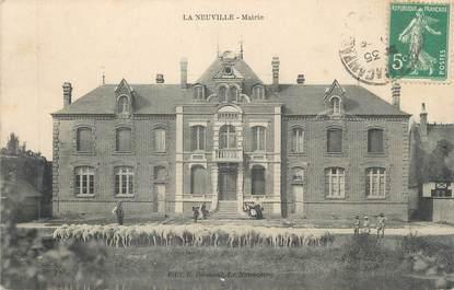 "CPA FRANCE 76 ""La Neuville, Mairie"""