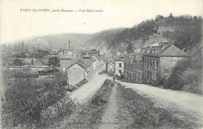 """CPA FRANCE 76 """"Port St Ouen, Vue générale"""""""