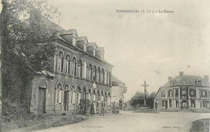 """CPA FRANCE 76 """"Pommeréval, Le centre"""""""
