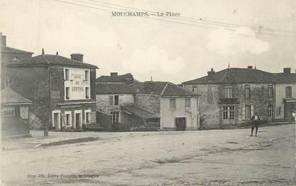 """CPA FRANCE 85 """"Mouchamps, La place"""""""