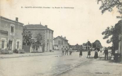 "CPA FRANCE 85 ""Ste Hermine, La Route de Chantonnay"""