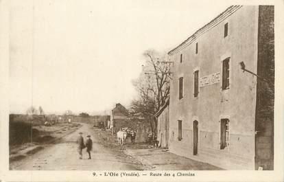"""CPA FRANCE 85 """"L'Oie, Route des 4 Chemins"""""""