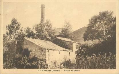 """CPA FRANCE 85 """"Evrunes, Moulin de Gazeau"""""""