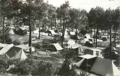 """CPSM FRANCE 85 """" Sion sur l'Océan, Le camping en forêt"""""""