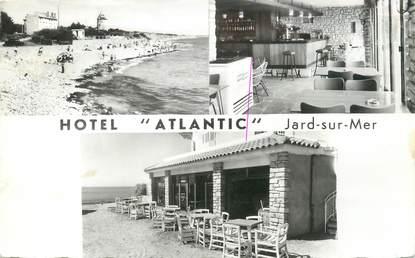 """CPSM FRANCE 85 """"Jard sur Mer, Hôtel Atlantic"""""""
