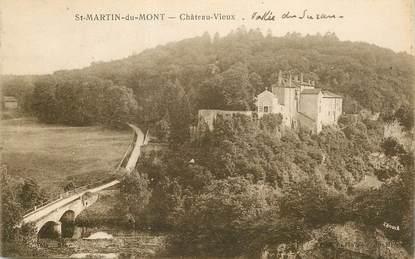 """CPA FRANCE 01 """"Saint Martin du Mont, Chateau Vieux"""""""