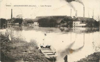 "CPA FRANCE 25 "" Audincourt, Les forges"""