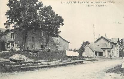 "CPA FRANCE 25 "" Amathay, Dessus du village """