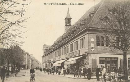 """CPA FRANCE 25 """" Montbéliard, Les halles"""""""