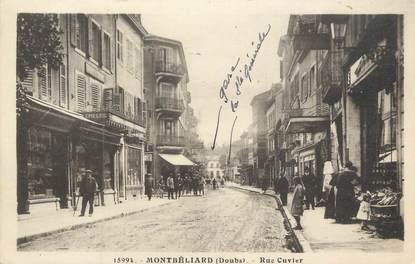 "CPA FRANCE 25 "" Montbéliard, Rue Cuvier"""