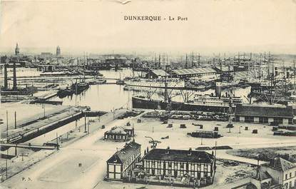 """CPA FRANCE 59 """"Dunkerque, le Port"""""""