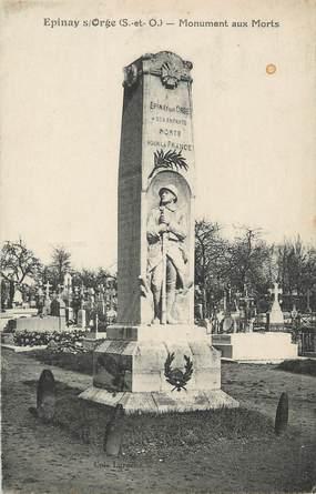 """CPA FRANCE 91 """" Epinay sur Orge, Le monument aux morts"""""""
