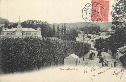 "CPA FRANCE 91 "" Orsay - Guichet"" / CACHET AMBULANT"