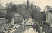 """91 Essonne CPA FRANCE 91 """" Orsay, L'Yvette prise du pont"""""""