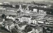 """91 Essonne CPSM FRANCE 91 """" Bretigny sur Orge, Panorama sur la gare"""""""