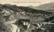 """66 PyrÉnÉe Orientale CPA FRANCE 66 """"La Forge Del Mitg, le Pont, départ du train"""""""