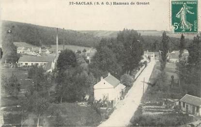 "CPA FRANCE 91 "" Saclas, Hameau de Grenet"""
