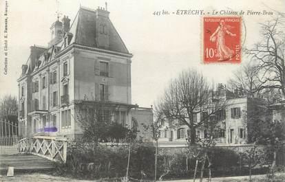 """CPA FRANCE 91 """"Etrechy, Le Château de Pierre Brou"""""""