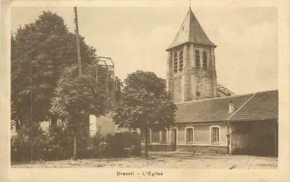 """CPA FRANCE 91 """"Draveil, L'église"""""""