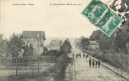 "CPA FRANCE 91 ""La Hacquinières - Bûres, Avenue Victor Hugo"""