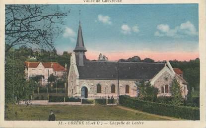 """CPA FRANCE 91 """"Lozère, La chapelle"""""""