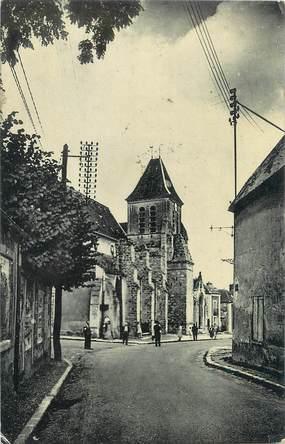 """CPSM FRANCE 91 """"St Vrain, L'église"""""""