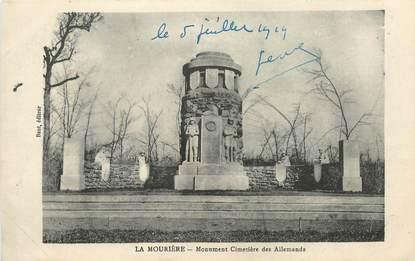 """CPA FRANCE 05 """"La Mourière, monument Cimetière des allemands"""""""
