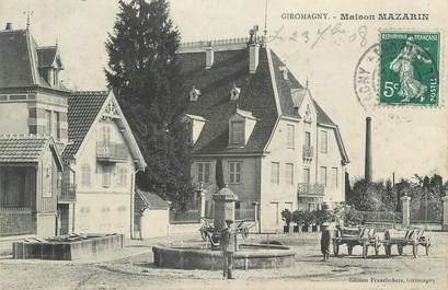 """CPA FRANCE 90 """" Giromagny, Maison Mazarin"""""""