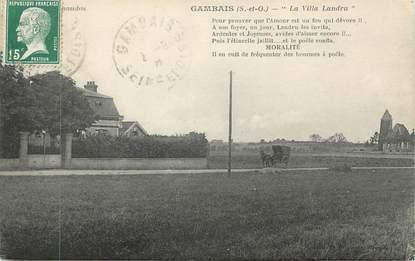 """CPA FRANCE 78 """" Gambais, La Villa Landru"""""""