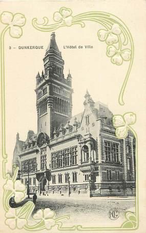 """CPA FRANCE 59 """"Dunkerque, L'Hôtel de ville"""""""