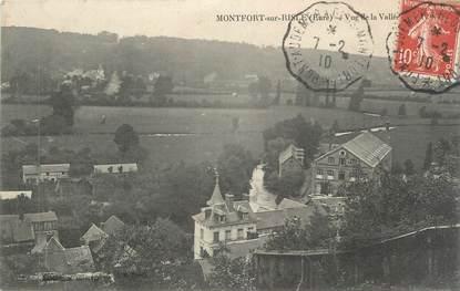 """CPA FRANCE 27 """" Montfort sur Risle, Vue générale de la vallée"""""""