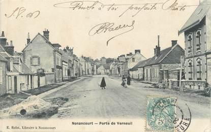 """CPA FRANCE 27 """" Nonancourt, Porte de Verneuil"""""""
