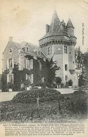 """CPA FRANCE 85 """"Saint Germain, Chateau des Roche Baritaut"""""""