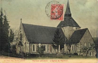 """CPA FRANCE 27 """" Perriers sur Andelle, L'église"""""""