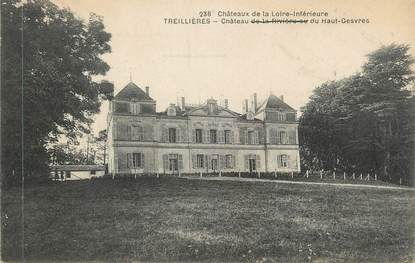 """CPA FRANCE 44 """" Treillières, Le Château du Haut Gesvres"""""""