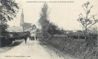 """CPA FRANCE 44 """" Bouvron, Vue prise de la Route de Blain"""""""