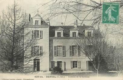"""CPA FRANCE 44 """"Derval, Château de la Garenne"""""""