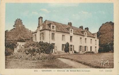 """CPA FRANCE 44 """"Gouëron, Château du Grand Bois ès Loups"""""""