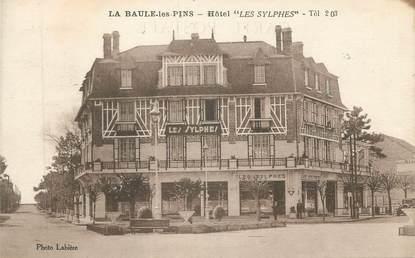 """CPA FRANCE 44 """"La Baule - Les Pins, Hôtel Les Sylphies"""""""
