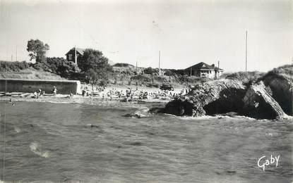 "CPSM FRANCE 44 "" Port Giraud, La plage"""