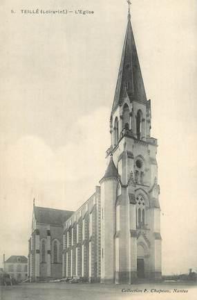 """CPA FRANCE 44 """" Teillé, L'église"""""""