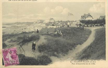 """CPA FRANCE 44 """" Tharon Plage, Vue d'ensemble de la côte"""""""