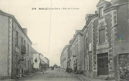 "CPA FRANCE 44 "" Riaillé, Rue du Calvaire"""