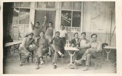 """CARTE PHOTO FRANCE 34 """"Capestang, Hotel de la Paix, rue Jean  Jaurès"""""""