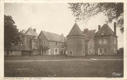 """CPA FRANCE 86 """" Rouillé, Le château"""""""