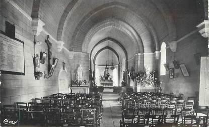 """CPSM FRANCE 86 """"Mauprévoir, Intérieur de l'église"""""""