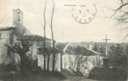 "CPA FRANCE 26 "" Beauvallon, L'église"""