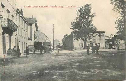 """CPA FRANCE 43 """" St Just Malmont, Les Arbres"""""""