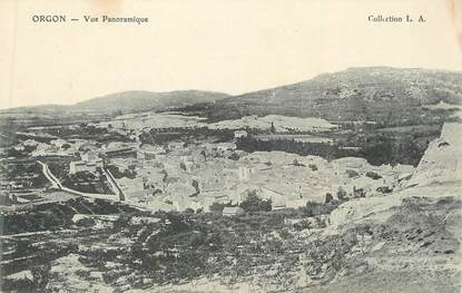 """CPA FRANCE 13 """"Orgon, Vue panoramique"""""""